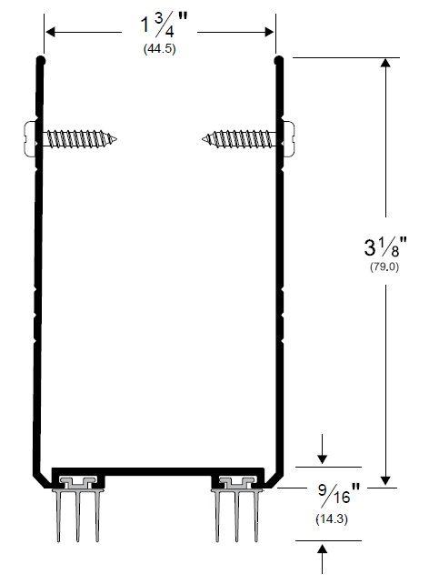 Product Specs of Pemko 2212_PK7337 Door Shoe Sweep with Kick Plate
