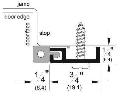 Product Specs of Door Gasket with Sponge EPDM Seal - P312