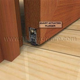 How to Install a Mortised Automatic Door Bottom - Adjust Your Automatic Door Bottom