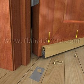 How to Install an Automatic Door Bottom- Figure 3