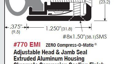 EMI / RFI Sealing System