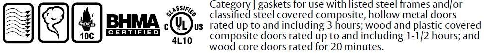 Compliance Details of Door Gasket with Sponge EPDM Seal