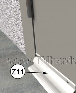 Exterior Outswing Door Gasketing System