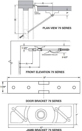 Overhead Door Applications : Glynn johnson series overhead door holder trademark