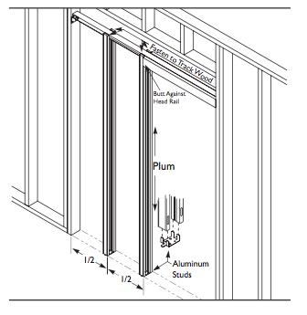Pf28200a Pocket Frame Kit Ada Approved Trademark Hardware