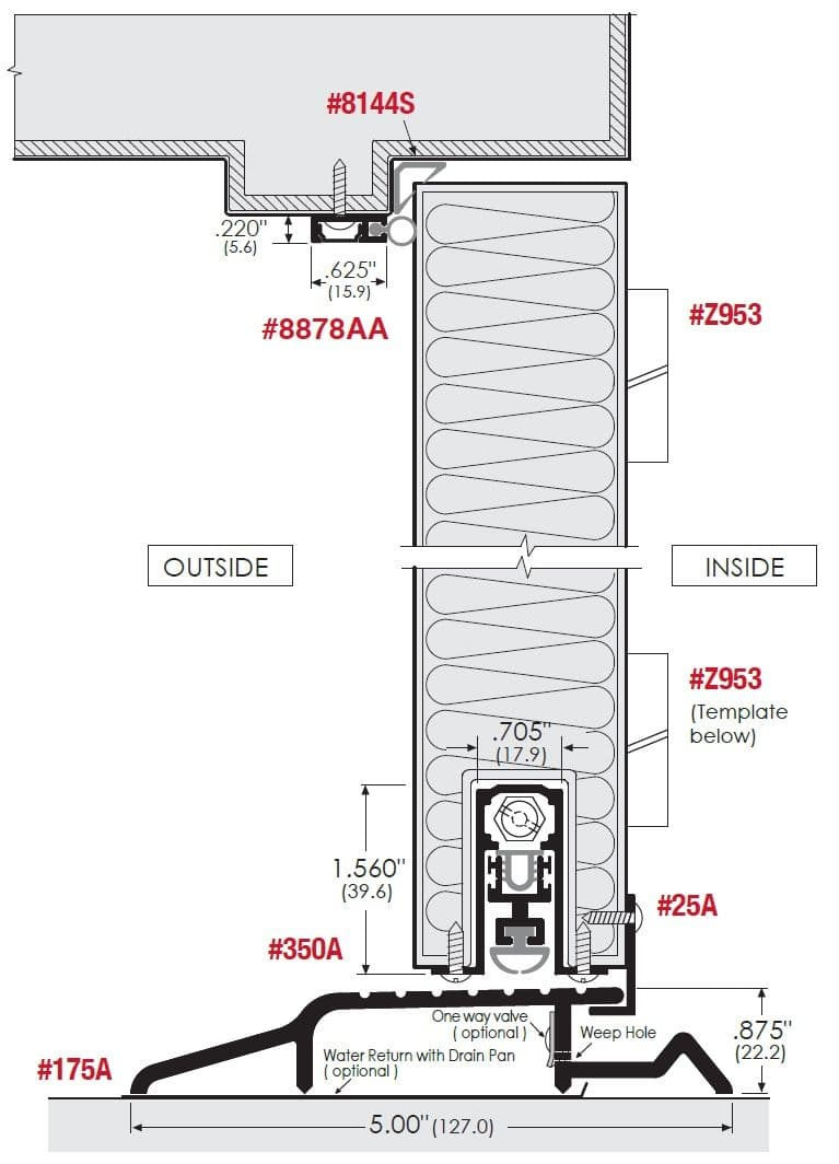 Exterior Doorway Sealing System For Residential Doors Bought To You
