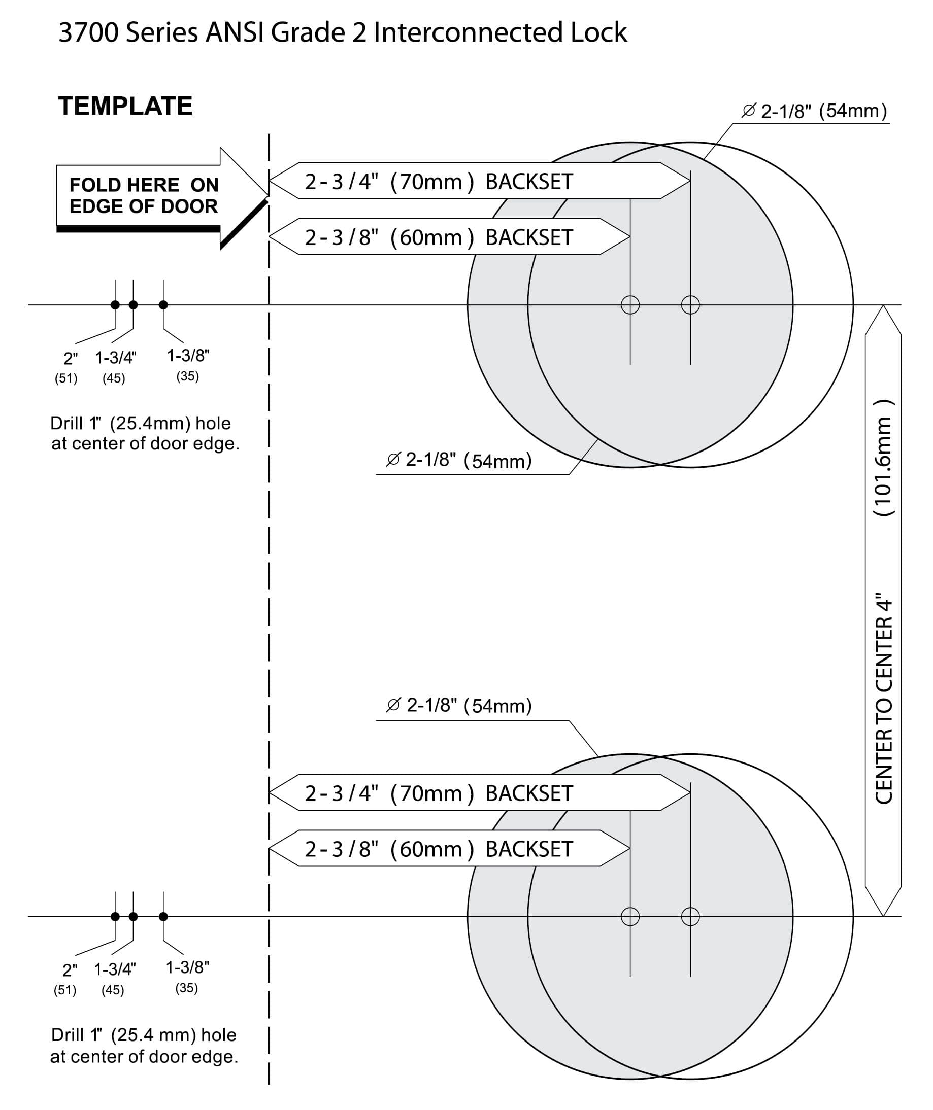 Diagram of deadbolt lock diagram of mortise lock elsavadorla for Schlage mortise lock template
