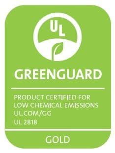 GreenGuard Gold Compliance for Door Bottom Sweep with Eco-V Vinyl Seal and Rain Drip Cap by Pemko