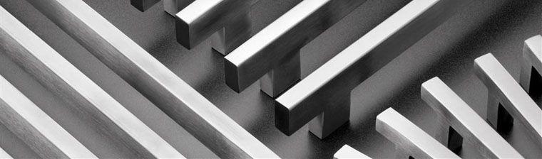 GeoMetek Tubular Square and Rectangular Pulls Made by Rockwood Manufactureres