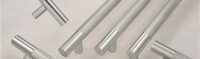 LineaMet Architectural Door Pulls and Push Bars made by Rockwood Manufacturers