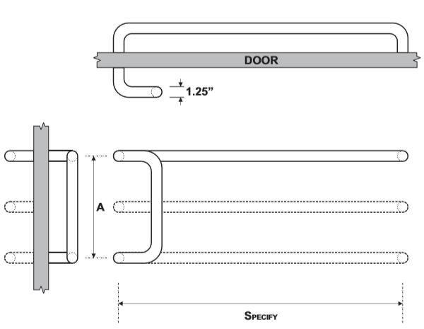Rockwood RM251 Push Pull Set Product Specs