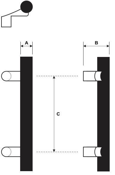 Rockwood RM3930 Door Pull Product Specs